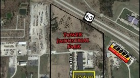 Tower Drive N. & Prathersville Rd. Tower Industrial Park Columbia, MO  65202