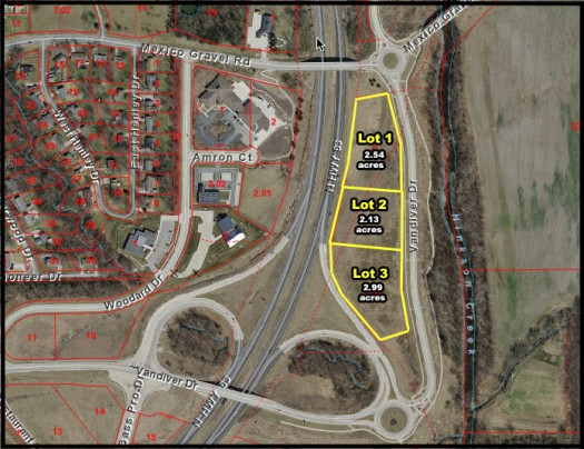 Highway 63 & Vandiver Dr. (Lot 3) Columbia, MO  65202